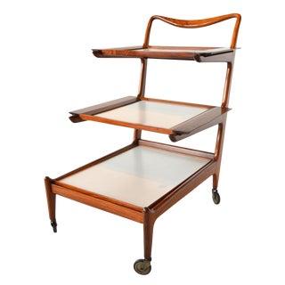 Carlo Hauner, Martin Eisler Tea/Bar Cart Brazilian Mid Century Modern For Sale