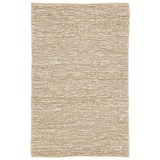 Jaipur Living Havana Natural Solid Beige/ White Area Rug - 3′6″ × 5′6″ For Sale