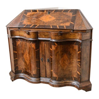 Rare Swiss Corner Desk For Sale