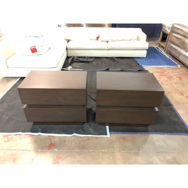 2010s Lawson-Fenning Stacked Box Nightstands - A Pair For Sale - Image 5 of 5