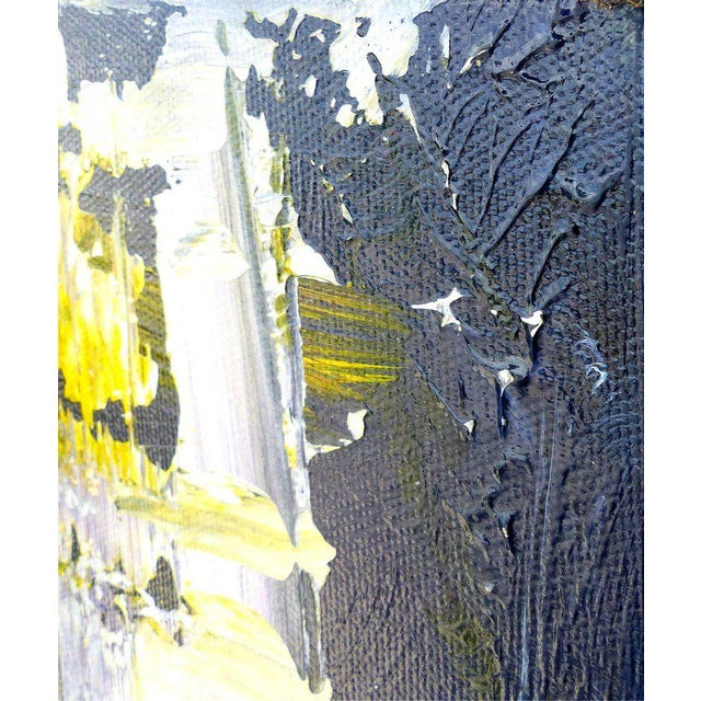 Abstract Painting by the Brazilian Artist Claudio Cardoso For Sale - Image 5 of 8