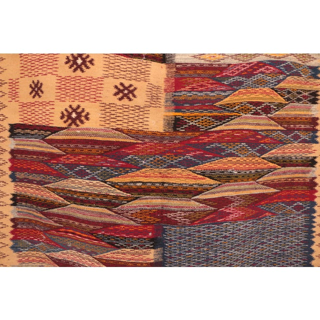 """Type of Rug : Aknif Country of Origin : Morocco Dimensions : 3'7"""" x 5'5"""" feet / 108 x 165 cm Material : 100% wool..."""