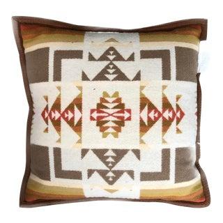 21st Century Pendleton Wool Pillow For Sale