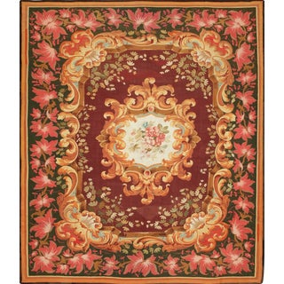 Antique Aubusson Tapestry, Mid-19th Century For Sale