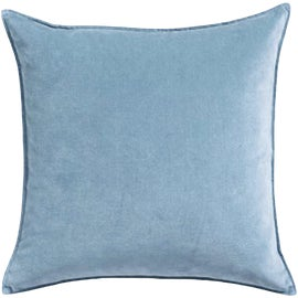 Image of Baby Blue Decorative Pillow Covers