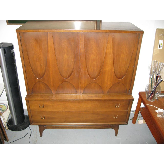 Broyhill Brasilia Highboy Dresser - Image 3 of 11