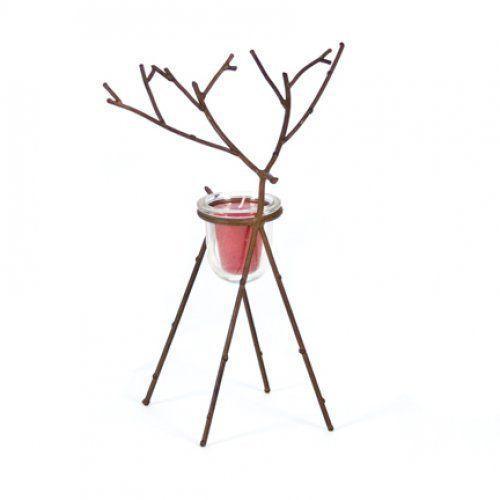 Figurative Deer Figure Votive Candle Holder For Sale - Image 3 of 8