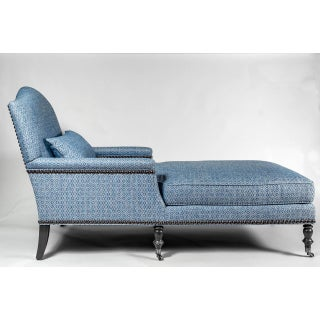 Chaise With Turned Legs by Duralee Preview