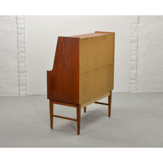 Mid-Century Modern Mid-Century Scandinavian Design Teak Writing Desk, Scandinavia, 1960s For Sale - Image 3 of 11