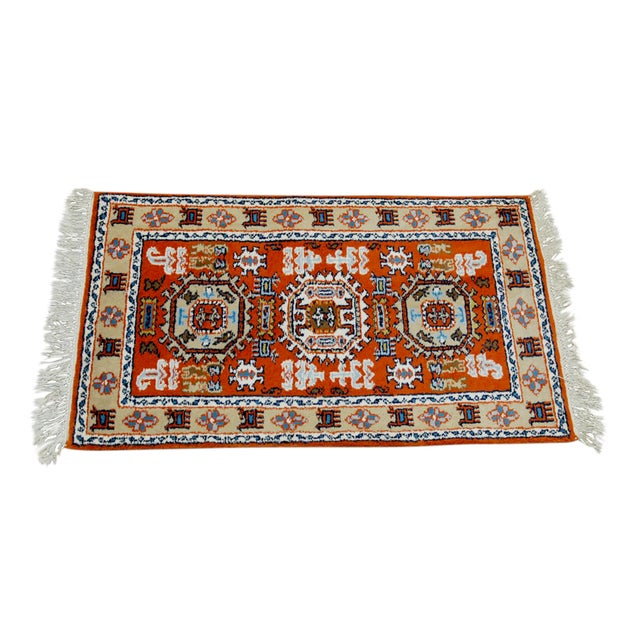 Tribal Meshkin-Style Carpet - 2′6″ × 4′3″ For Sale