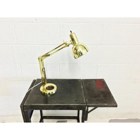 Mid-Century Modern Industrial Desk Lamp - Image 4 of 6