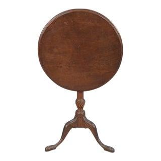 18th-Century American Federal Walnut Tea Table