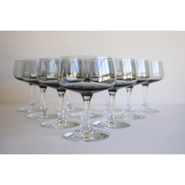 Vintage Champagne Coupes, Set of 10 - Image 3 of 6
