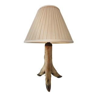 Late 20th Century Deer Hoof Table Lamp For Sale