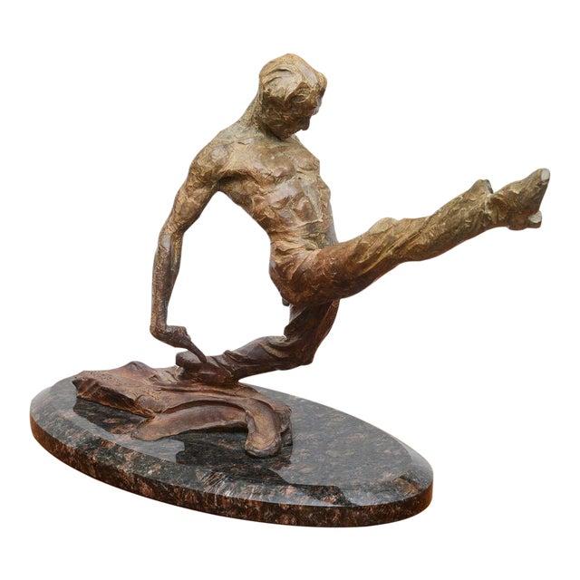 Richard Macdonald Suspension Flamenco Sculpture--2002 USA For Sale