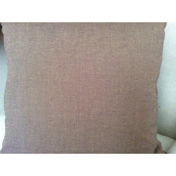 Teal Eric Cohler for Lee Jofa Perseus Fabric Pillow Cover in Sepia Brown Blue