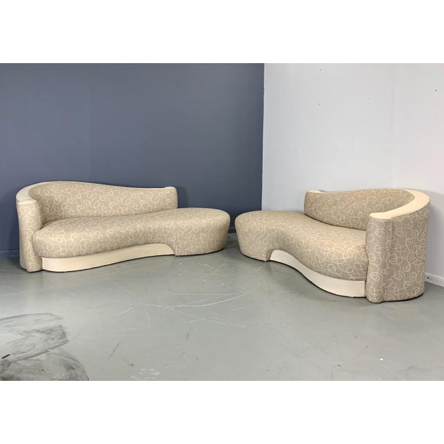 Sculptural, curvy, glamorous, this chaise/sofa looks great from all angles. Quite comfortable and reminiscent of designs...