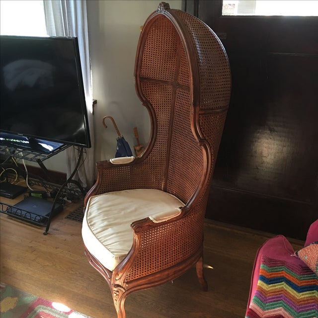 Antique Porter's Chair - Image 10 of 10