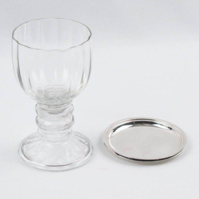 Jezler Modernist Sterling Silver Barware Coasters - Set of 6 For Sale - Image 4 of 7