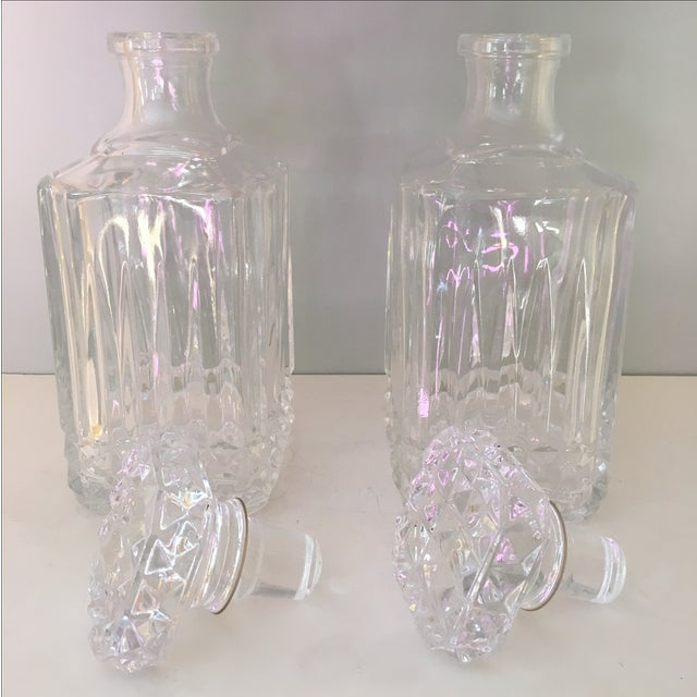 Diamond Glass Decanters - Image 6 of 8