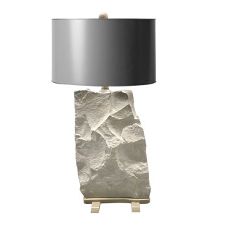 Large Sirmos Quarry Style Table Lamp For Sale