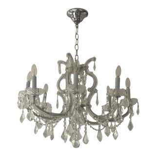 Maria Theresa 8 Arm Chandelier by Jame R Moder For Sale