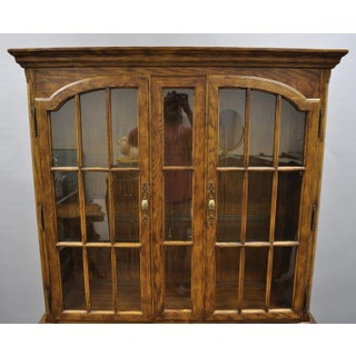 20th Century Americana Drexel Heritage Chatham Oak Hutch Preview