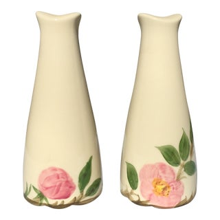 Franciscan Ware Desert Rose Salt & Pepper Shakers - 3 Pairs For Sale
