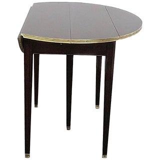 Directoire Style Drop Leaf Dining Table For Sale