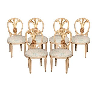 Dining Chairs Stamped Jansen - Set of 6 For Sale