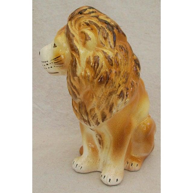 Mid-Century Italian Safari Lion - Image 4 of 8