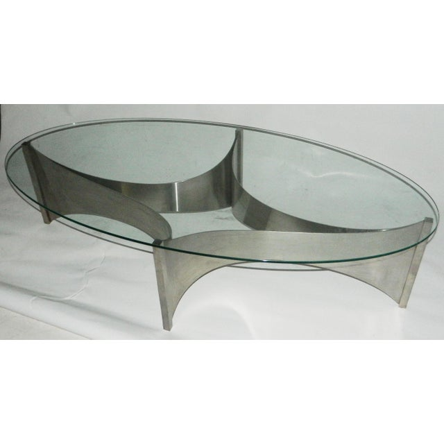 Circa 1970 Maison Charles Coffee Table - Image 4 of 4