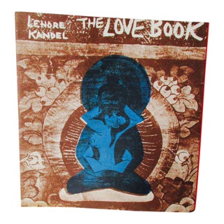 "Lenore Kandel ""The Love Book"" 1st Edition Sf Hippie Culture Book Published 1966 Erotica"