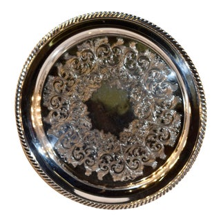 William A. Rogers Silverplate Tray For Sale