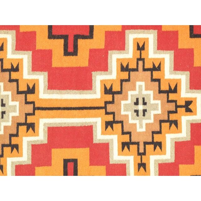"Navajo Decorative Hand-Woven Rug - 7'11"" X 10'1"" - Image 2 of 3"
