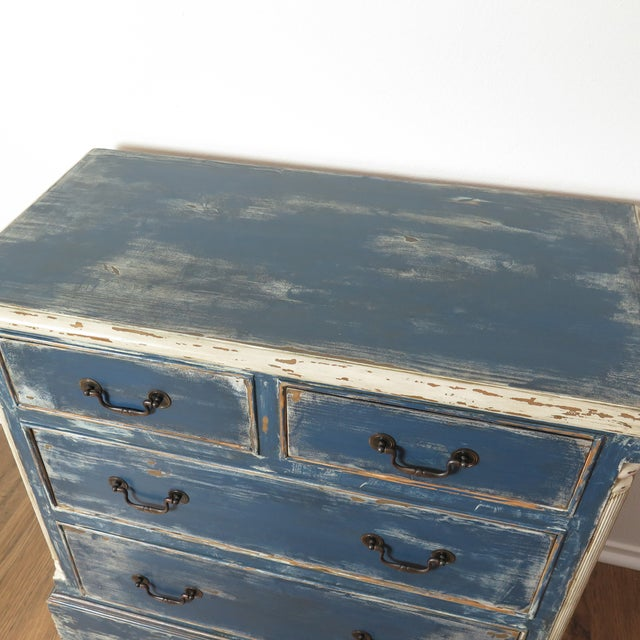 Antique Painted Chest of Drawers - Image 7 of 10