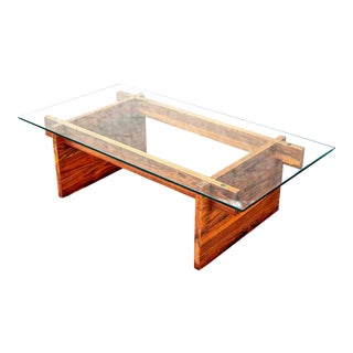 Danish Rosewood Mid-Century Coffee Table For Sale
