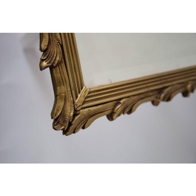 Antique Art Noveau Mirror - Image 3 of 9