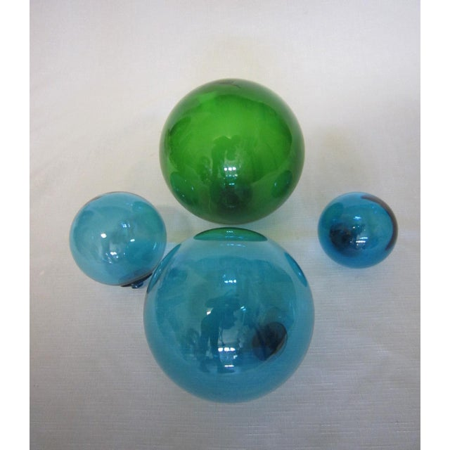 Vintage Glass Fishing Floats - Set of 4 - Image 3 of 4