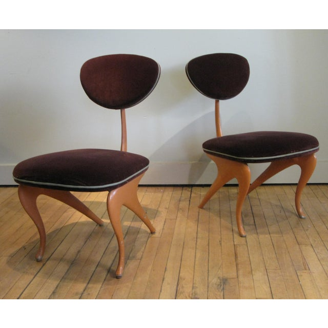 a very stylish pair of lounge chairs designed by Jordan Mozer for the Hudson Club in Chicago. cast aluminum frames and...