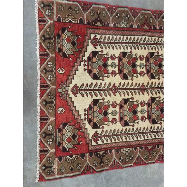 Vintage Hamadan Persian Rug - 3′6″ × 5′4″ - Image 4 of 9