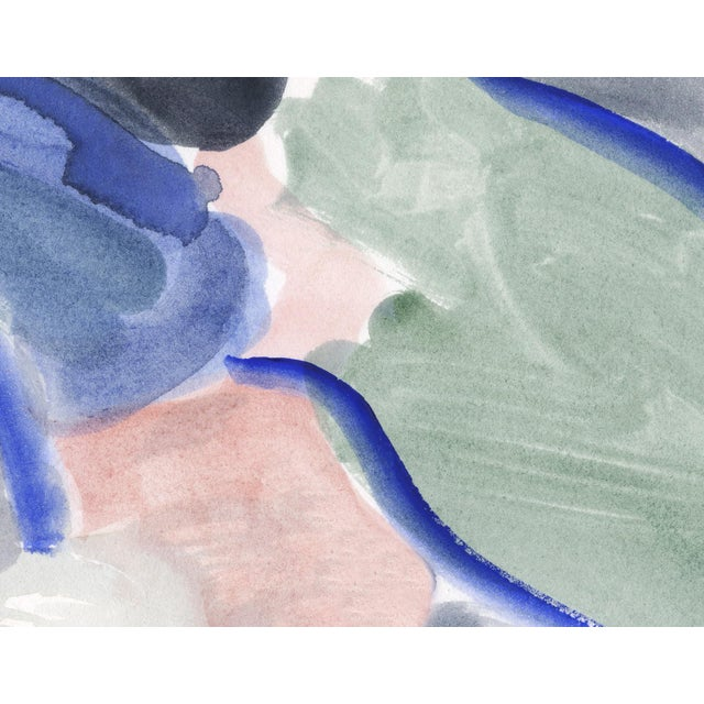 "Mark Frohman Imaginary Landscape #1, Mark Frohman, Framed 56"" X 40"" For Sale - Image 4 of 9"
