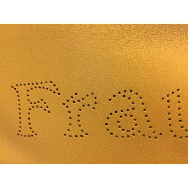 2000 - 2009 Poltrona Frau Prime Quality Yellow Sofa For Sale - Image 5 of 6