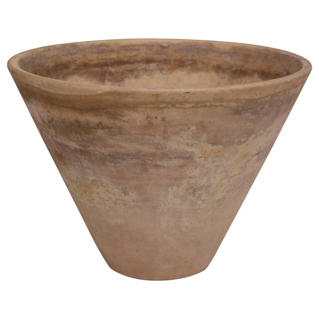 Large, Heavily Patinated Architectural Pottery Planter by Lagardo Tacket For Sale In San Diego - Image 6 of 6