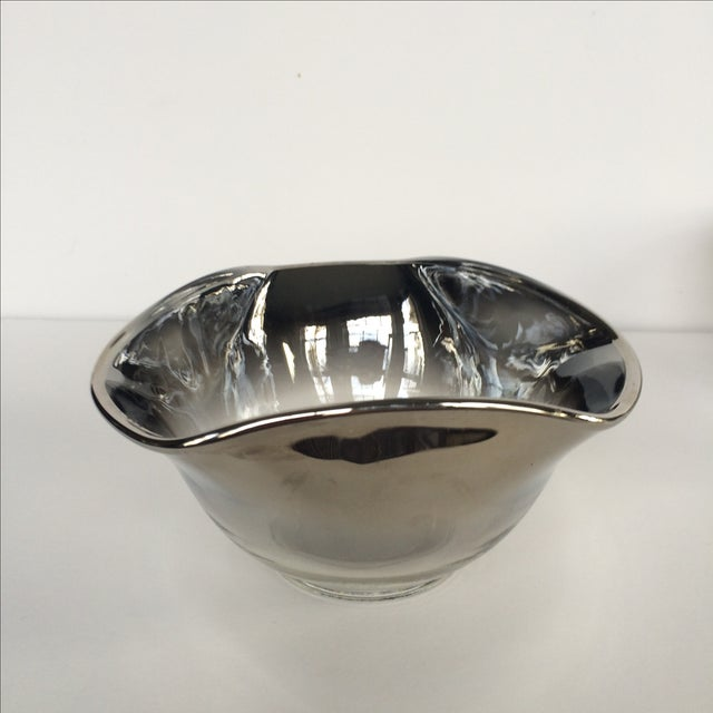 Silver Ombre Bowls- Set of 4 - Image 3 of 7