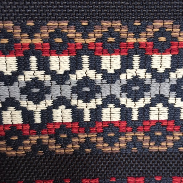 Woven Railroaded Stripe Fabric - 2.75 Yards - Image 2 of 6