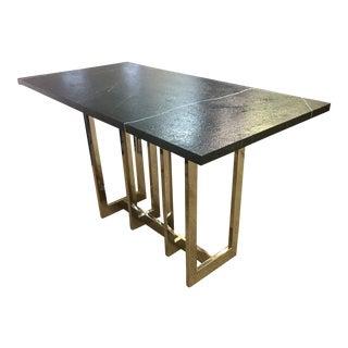 Contemporary Black Pub Table For Sale