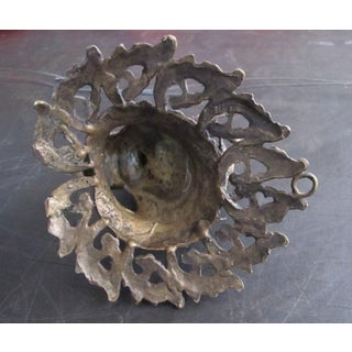 Bronze Dragon Candle Holders, Nepal - A Pair Preview