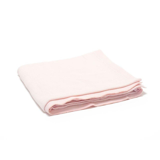2010s The Yorkville Baby Blanket in Ballerina Pink For Sale - Image 5 of 5