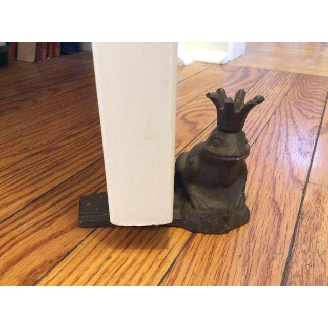 Cast Iron Frog Prince Door Stopper - Image 3 of 4